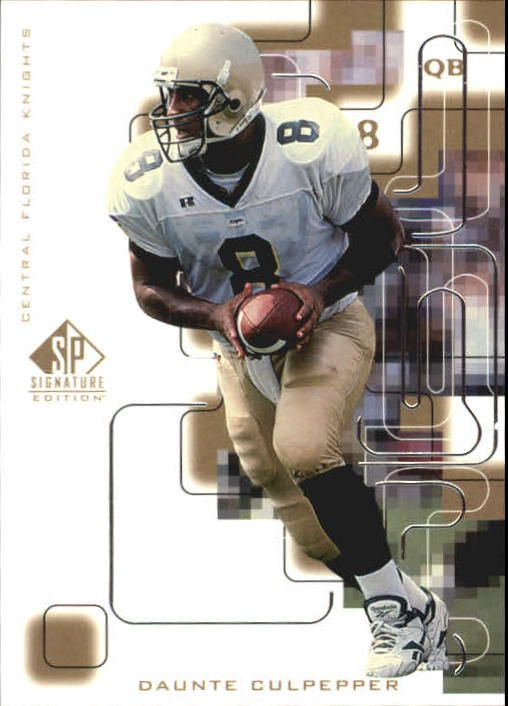 1999 SP Signature #174 Daunte Culpepper RC
