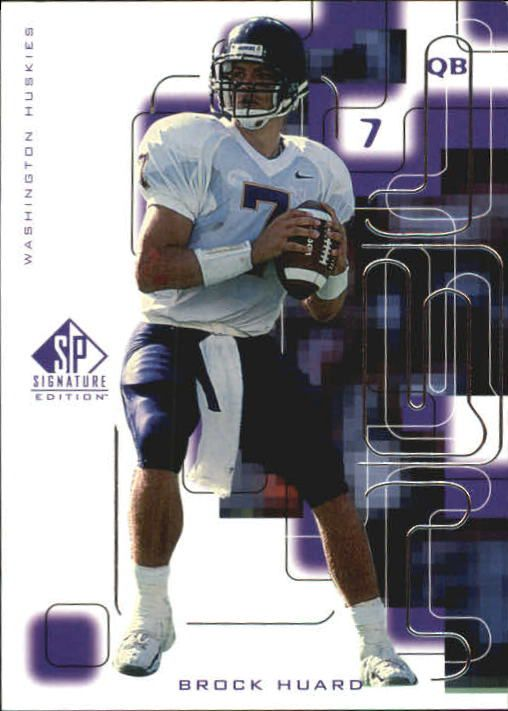 1999 SP Signature #176 Brock Huard RC