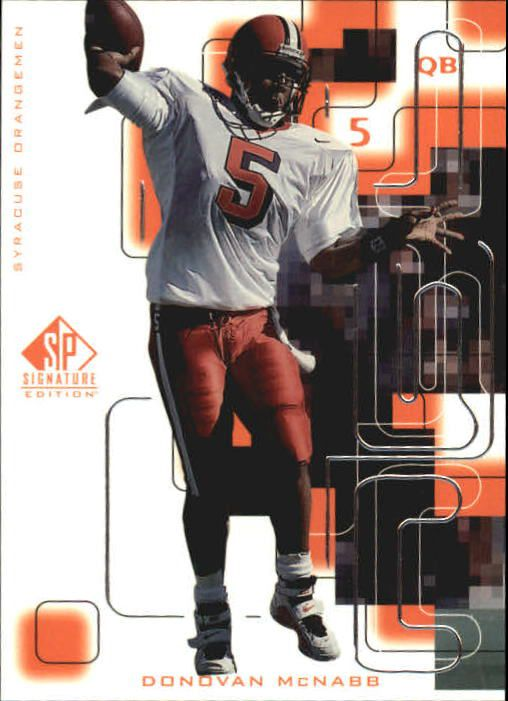 1999 SP Signature #177 Donovan McNabb RC