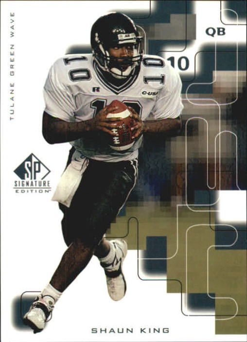 1999 SP Signature #179 Shaun King RC