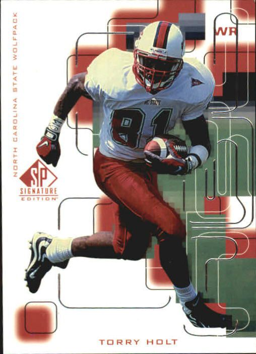 1999 SP Signature #180 Torry Holt RC