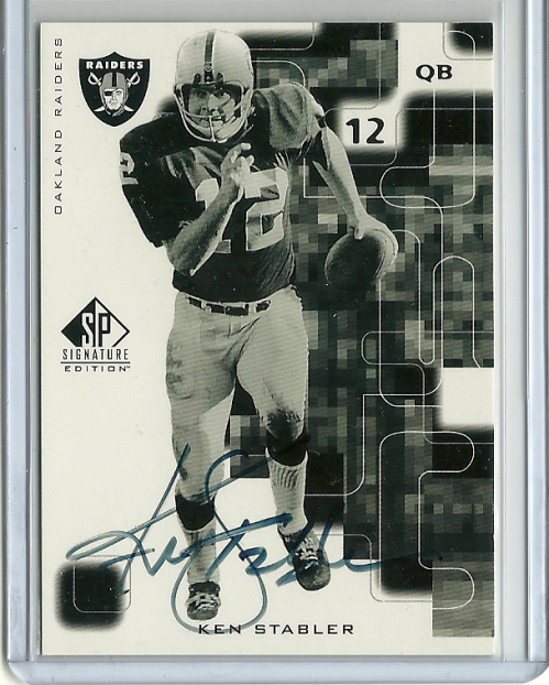 1999 SP Signature Autographs #KS Ken Stabler