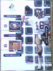 1999 SP Signature Montana Signature Performances #J2A Joe Montana