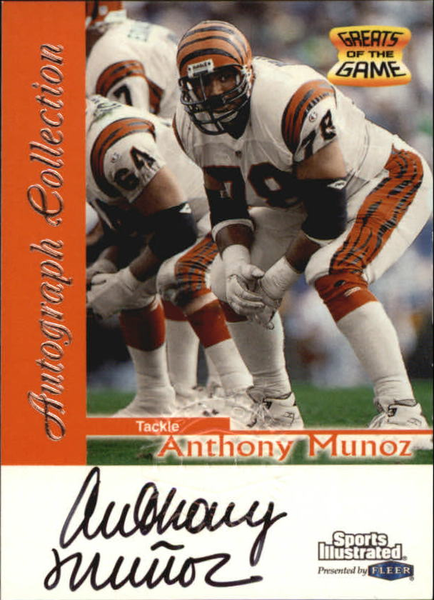 1999 Sports Illustrated Autographs #23 Anthony Munoz