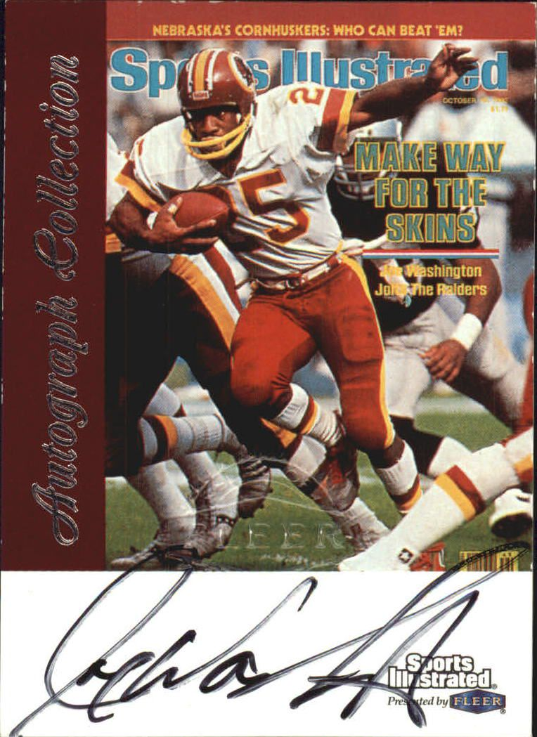 1999 Sports Illustrated Autographs #32 Joe Washington front image