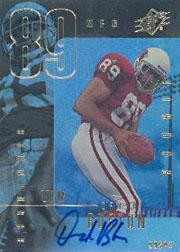 1999 SPx #125 David Boston AU RC