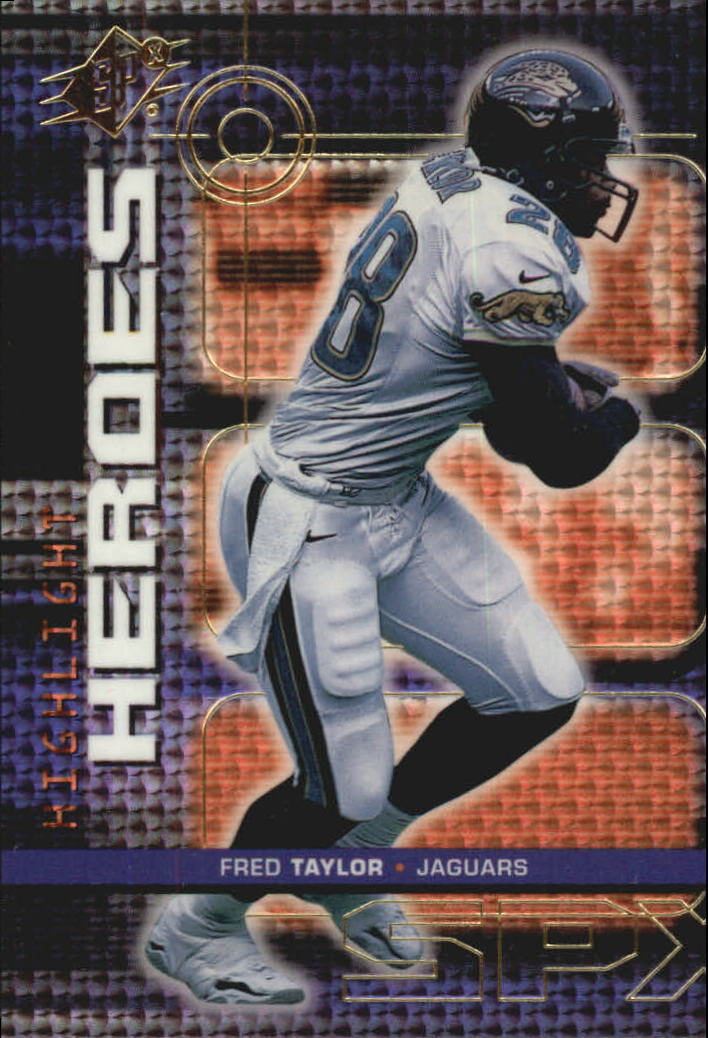 1999 SPx Highlight Heroes #H4 Fred Taylor