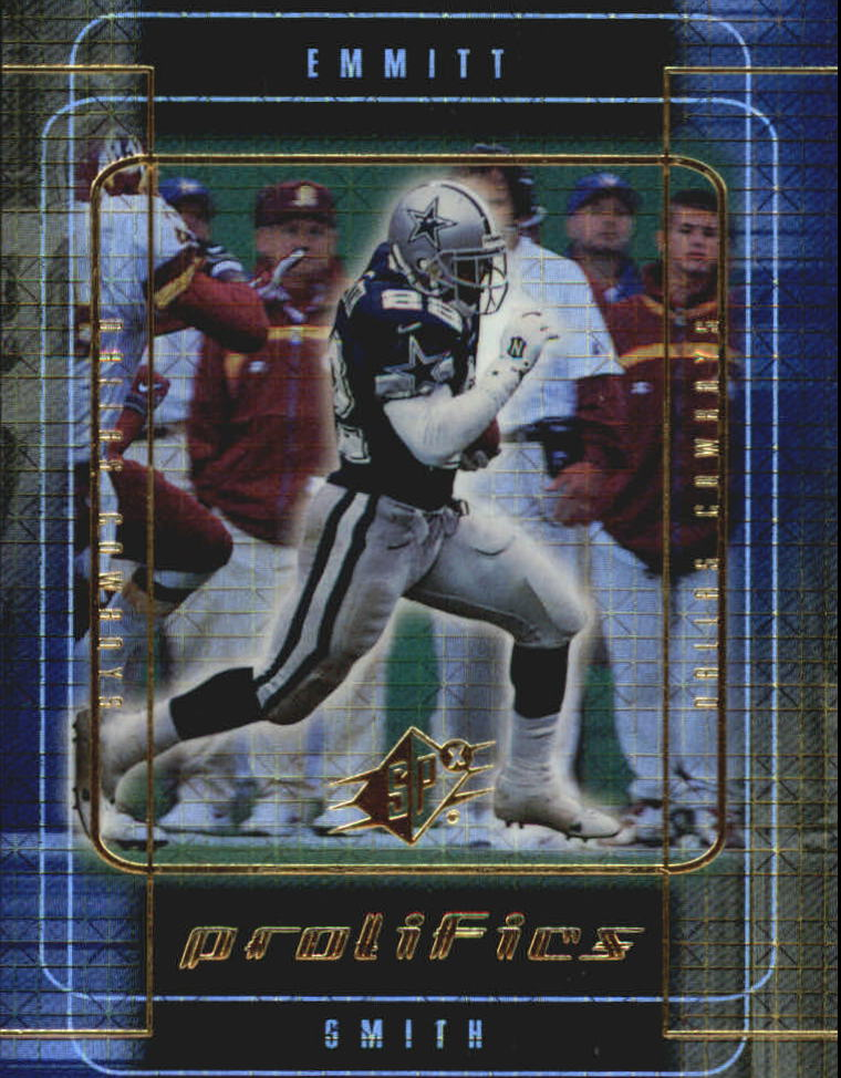 1999 SPx Prolifics #P12 Emmitt Smith