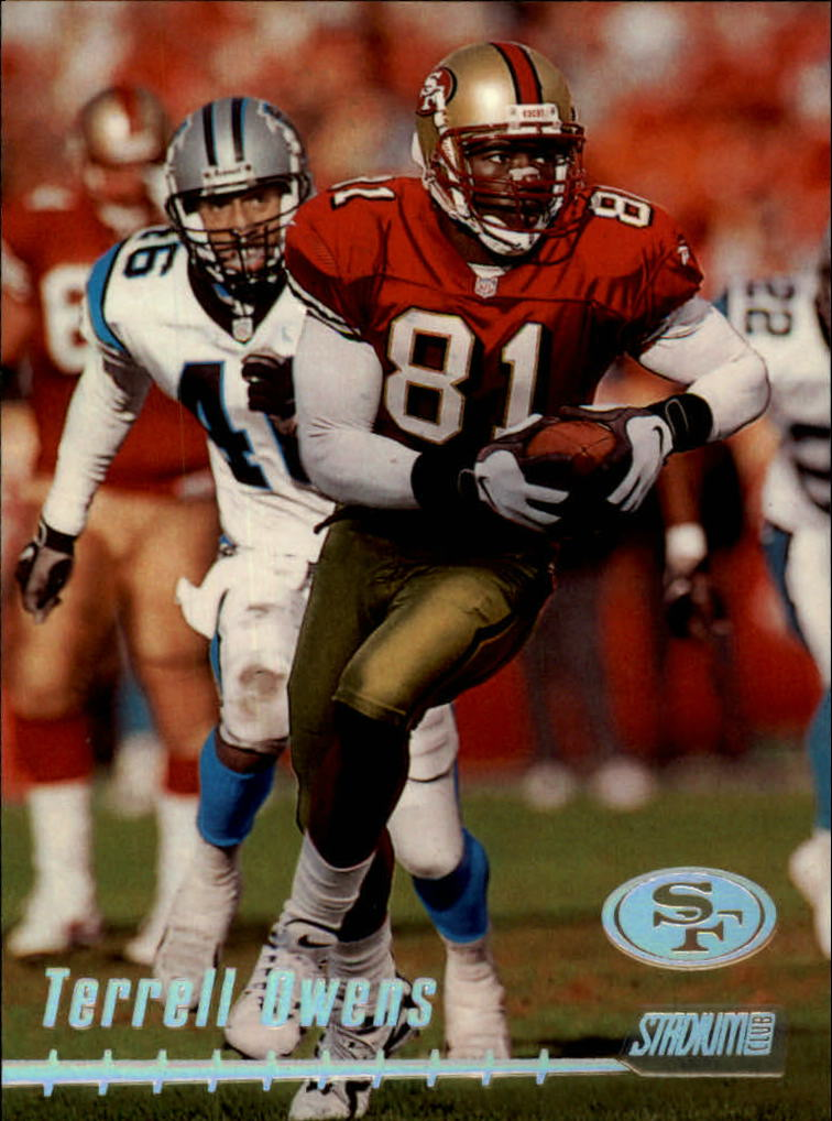 1999 Stadium Club #8 Terrell Owens