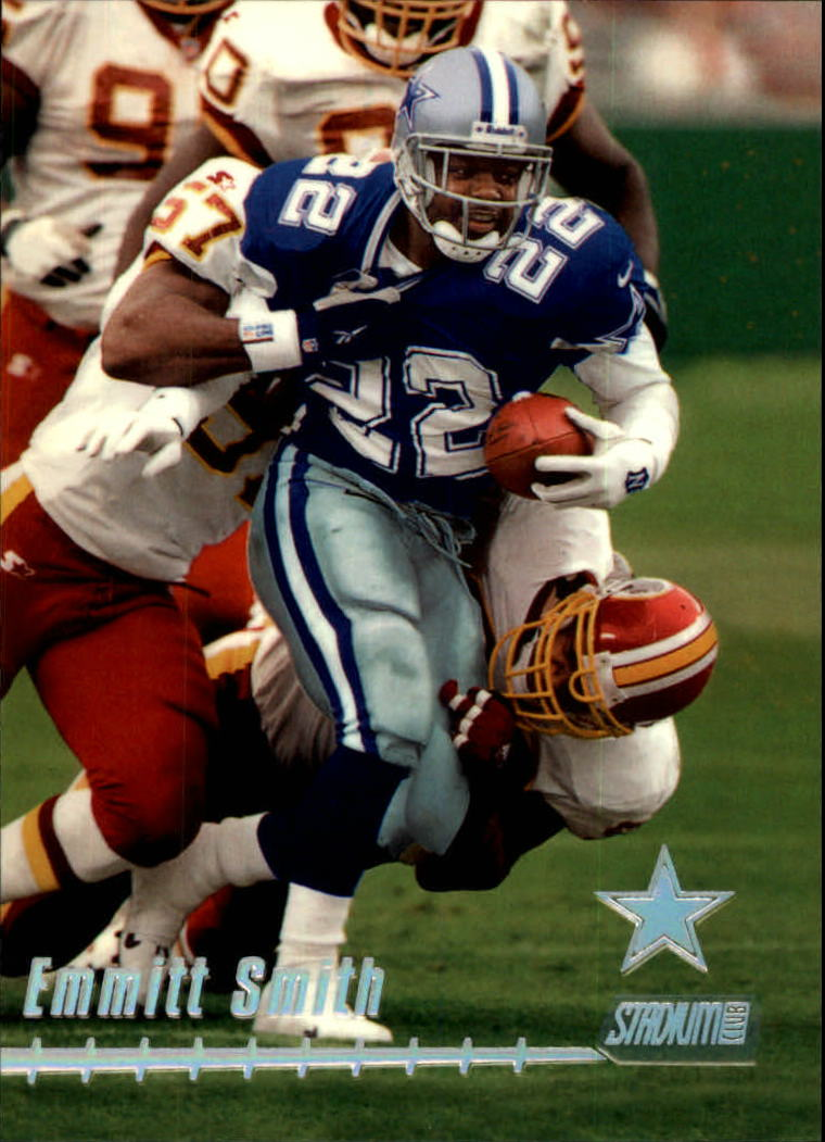 1999 Stadium Club #40 Emmitt Smith
