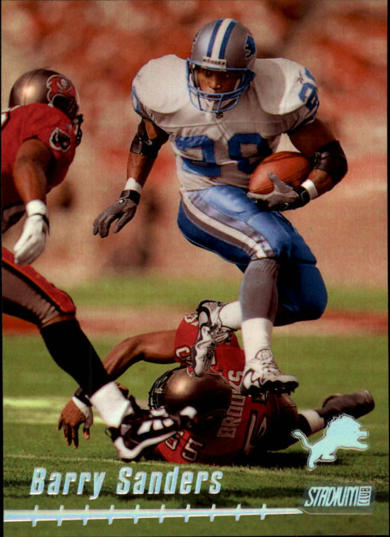 1999 Stadium Club #70 Barry Sanders
