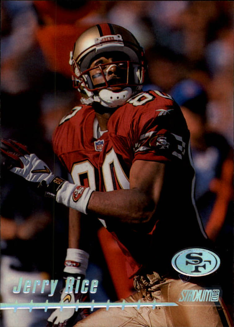 1999 Stadium Club #140 Jerry Rice