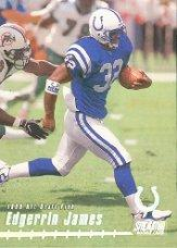 1999 Stadium Club #155 Edgerrin James RC