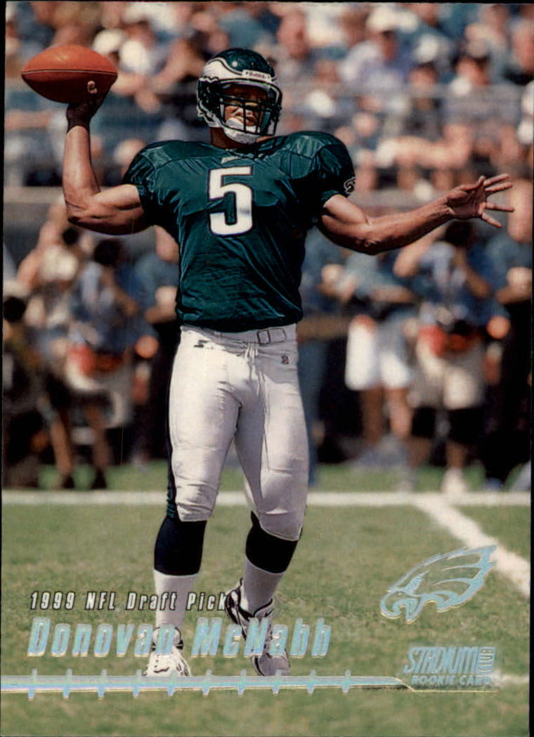1999 Stadium Club #165 Donovan McNabb RC