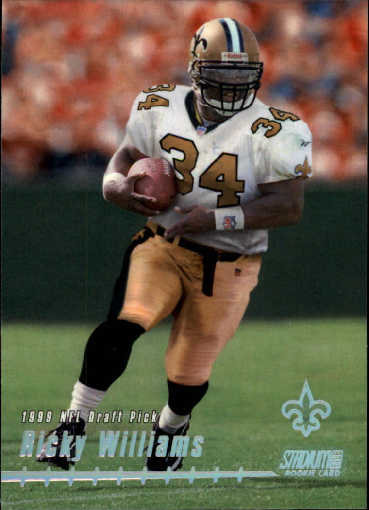 1999 Stadium Club #170 Ricky Williams RC
