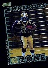 1999 Stadium Club Emperors of the Zone #E1 Ricky Williams