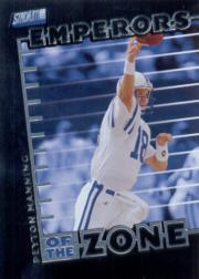 1999 Stadium Club Emperors of the Zone #E4 Peyton Manning