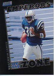 1999 Stadium Club Emperors of the Zone #E7 Edgerrin James