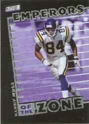 1999 Stadium Club Emperors of the Zone #E10 Randy Moss