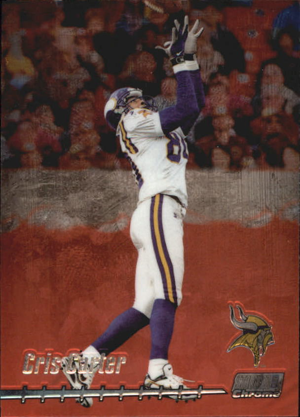 1999 Stadium Club Chrome #18 Cris Carter
