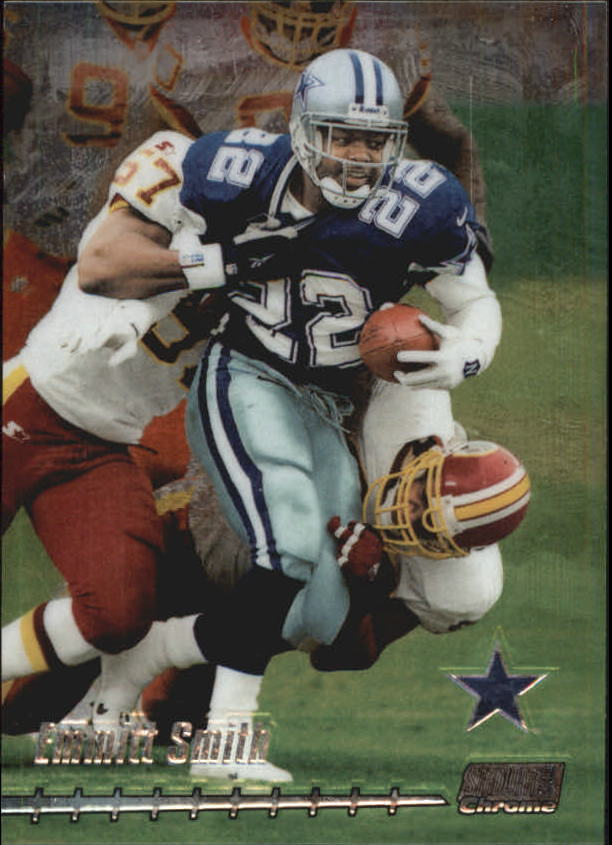 1999 Stadium Club Chrome #30 Emmitt Smith
