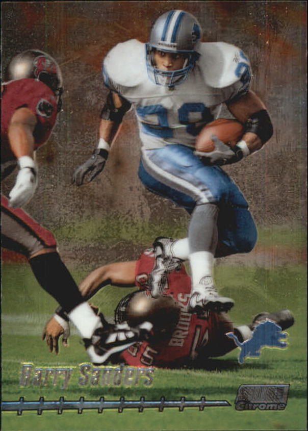 1999 Stadium Club Chrome #53 Barry Sanders