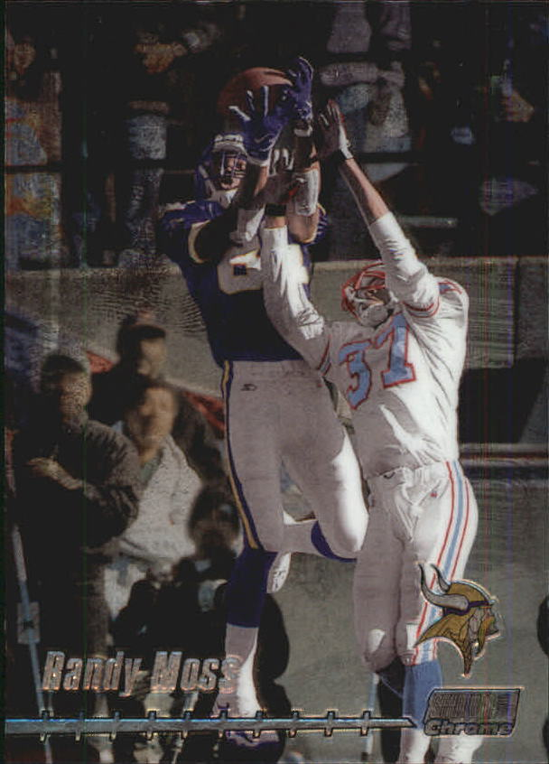 1999 Stadium Club Chrome #118 Randy Moss