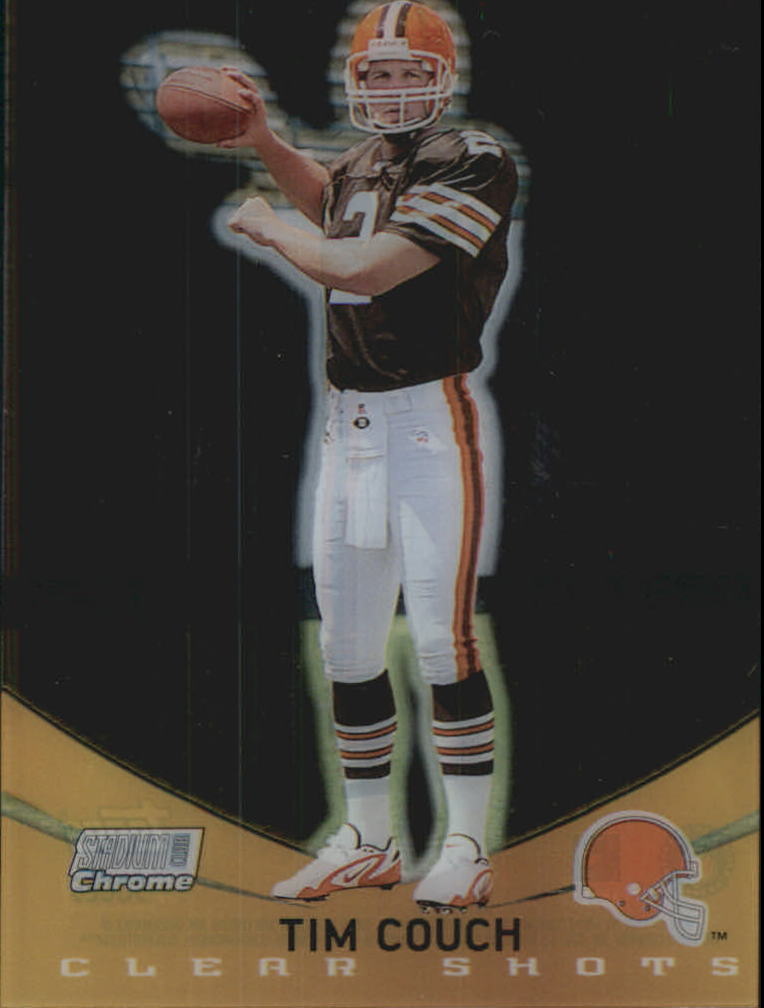 1999 Stadium Club Chrome Clear Shots #5 Tim Couch