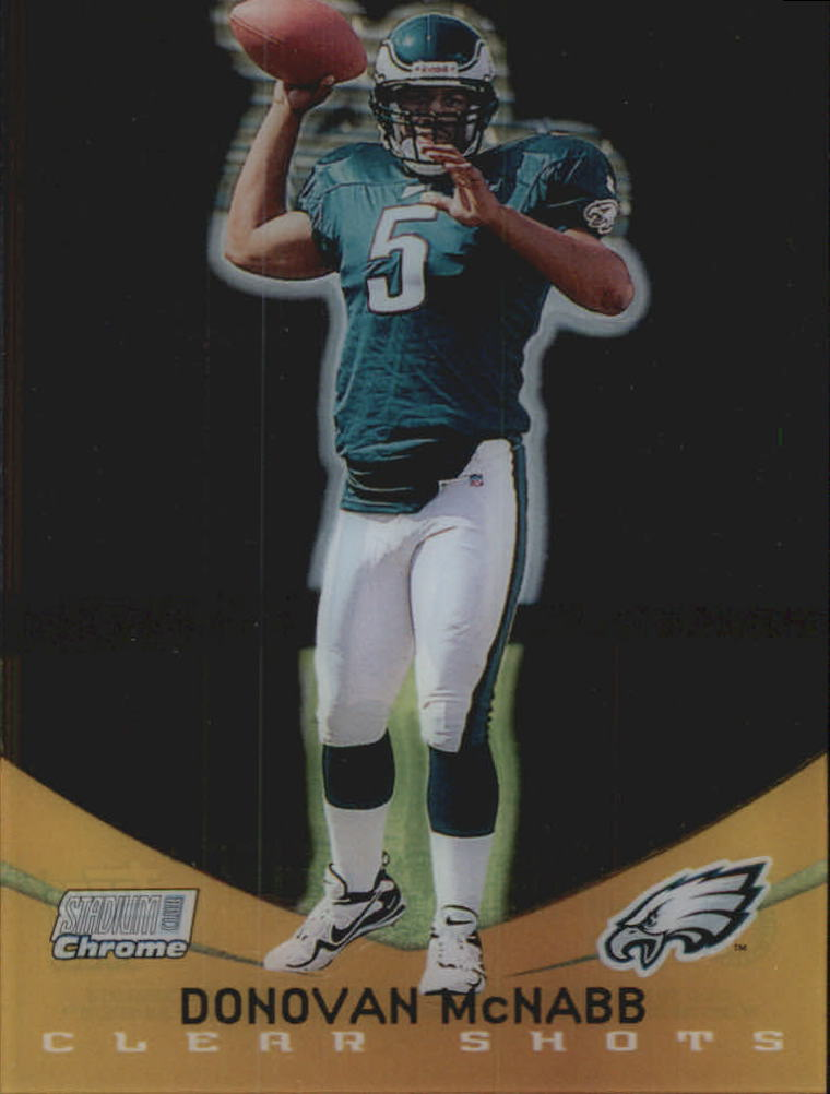 1999 Stadium Club Chrome Clear Shots #6 Donovan McNabb