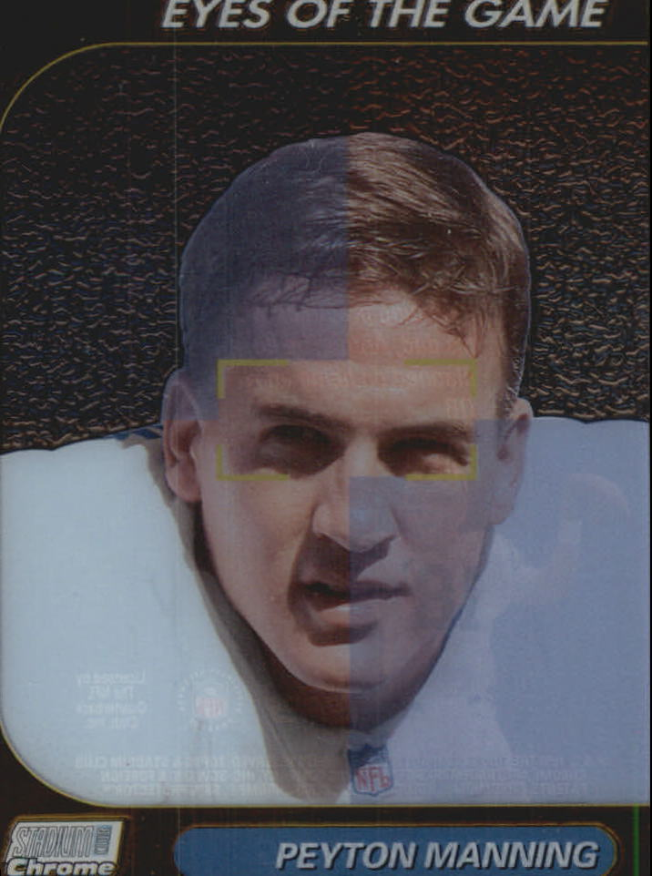 1999 Stadium Club Chrome Eyes of the Game #25 Peyton Manning