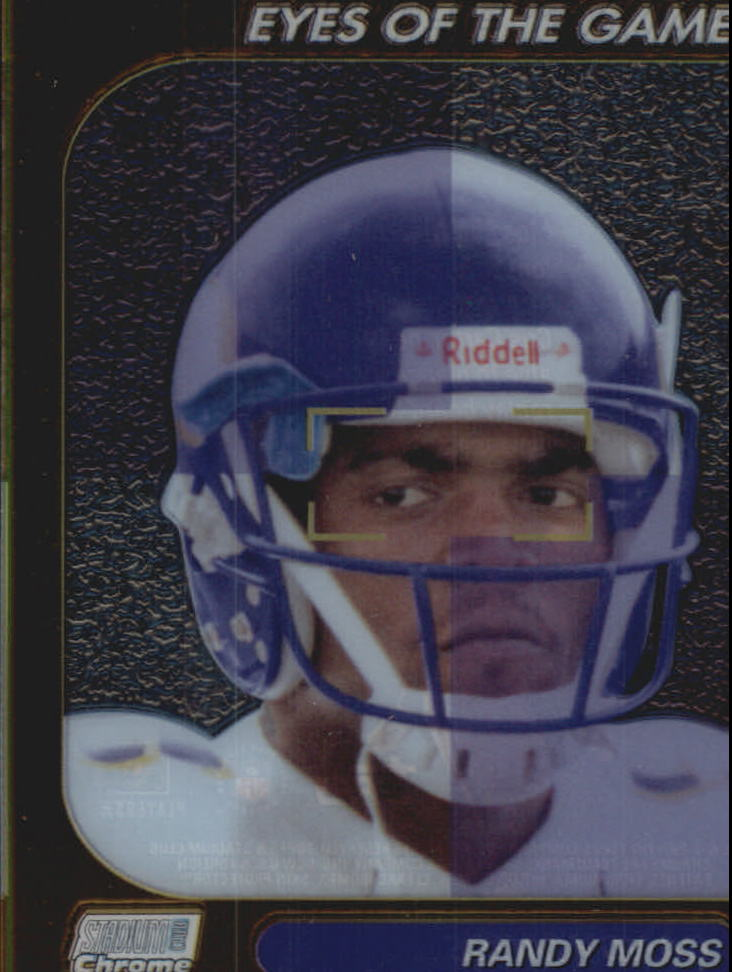 1999 Stadium Club Chrome Eyes of the Game #26 Randy Moss