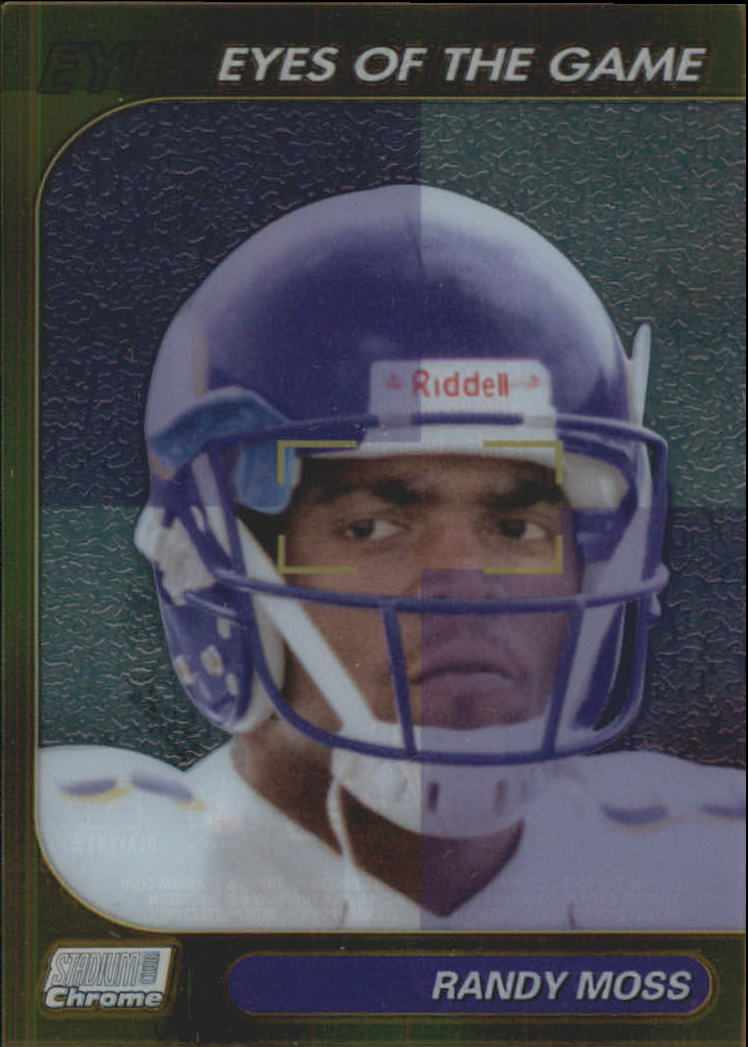 1999 Stadium Club Chrome Eyes of the Game Refractors #26 Randy Moss