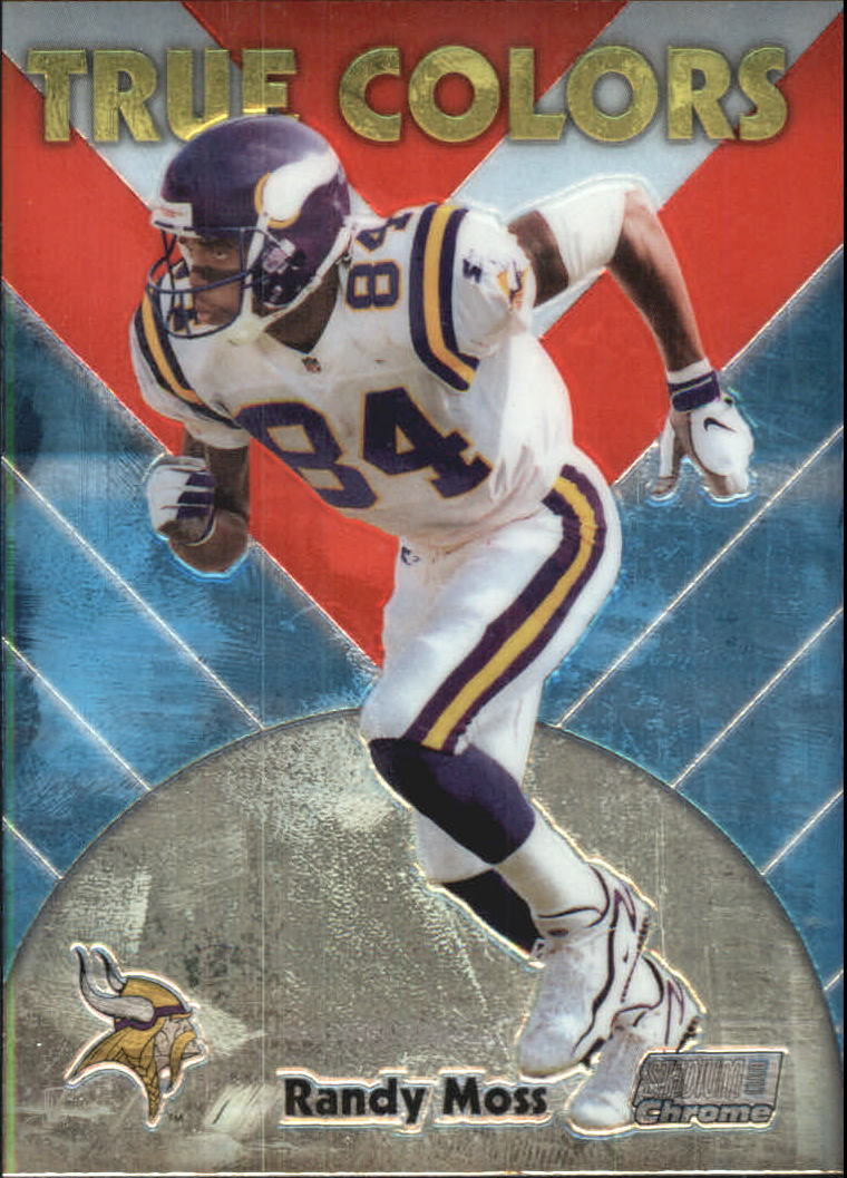 1999 Stadium Club Chrome True Colors #14 Randy Moss