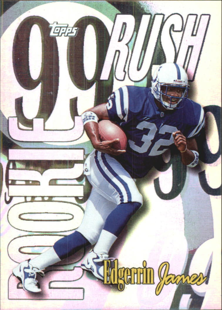 1999 Topps All Matrix #AM23 Edgerrin James