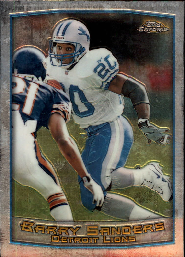 1999 Topps Chrome #25 Barry Sanders