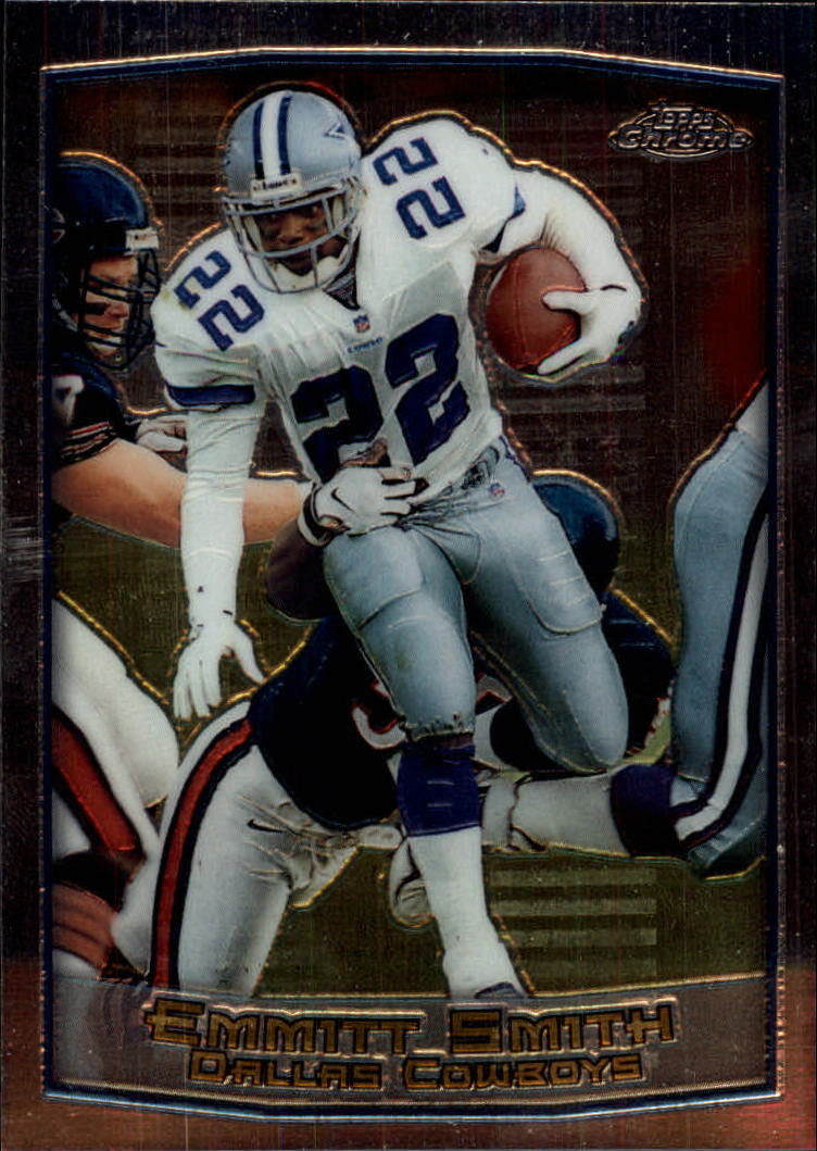 1999 Topps Chrome #30 Emmitt Smith