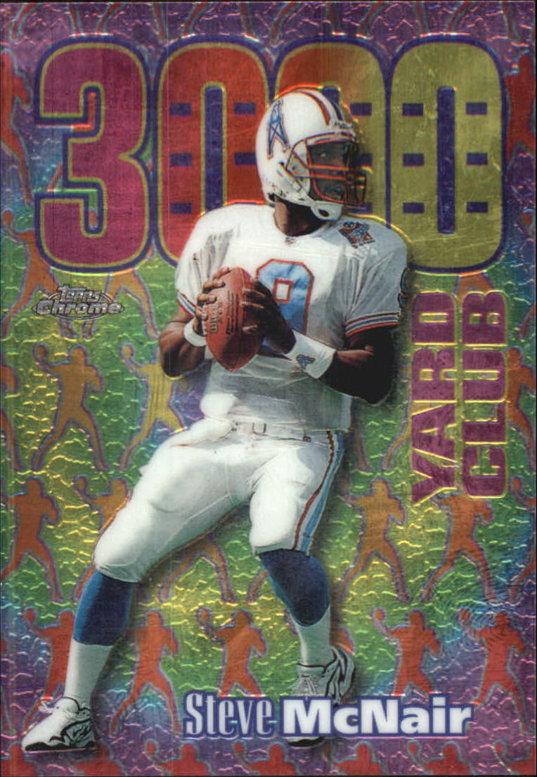 1999 Topps Chrome All-Etch #AE12 Steve McNair