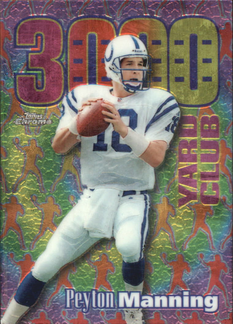 1999 Topps Chrome All-Etch #AE19 Peyton Manning
