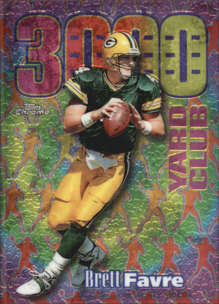 1999 Topps Chrome All-Etch #AE21 Brett Favre