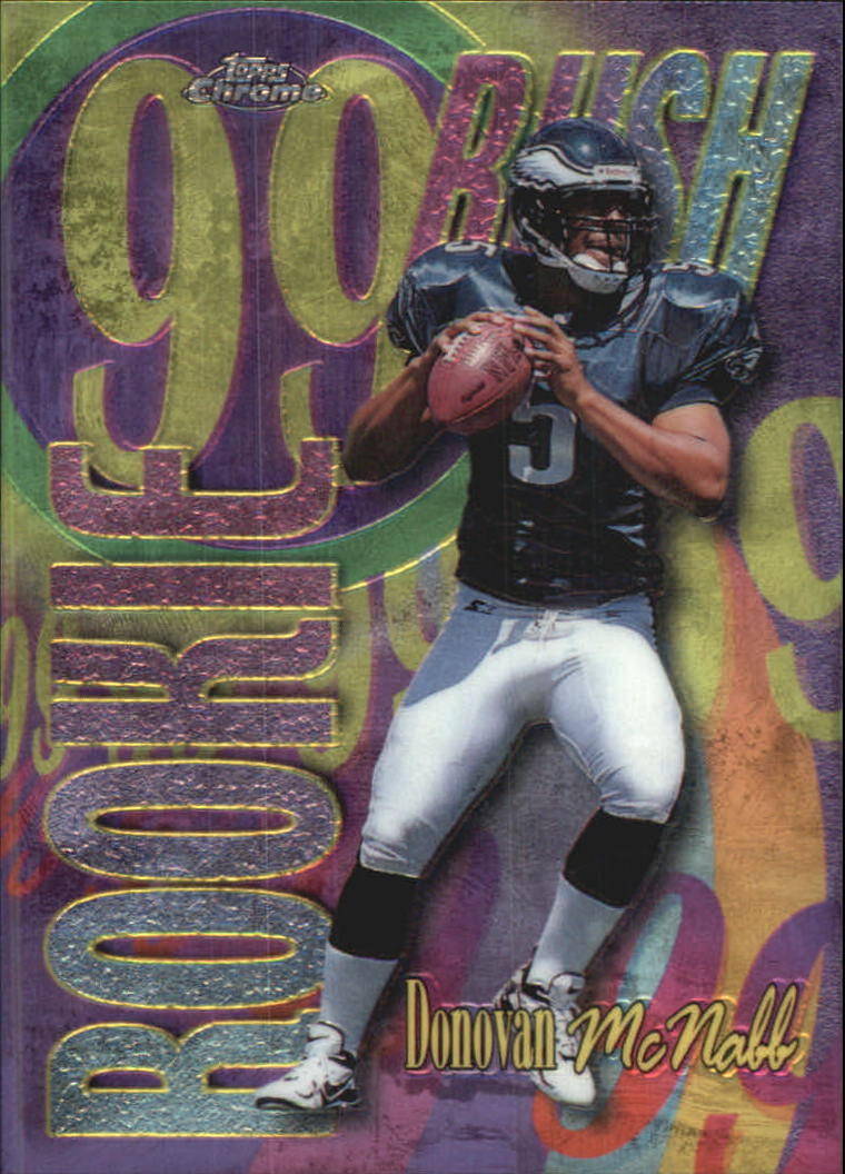1999 Topps Chrome All-Etch #AE28 Donovan McNabb