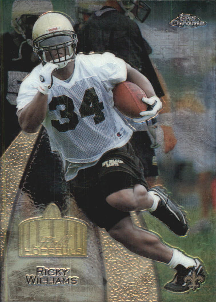 1999 Topps Chrome Hall of Fame #H5 Ricky Williams