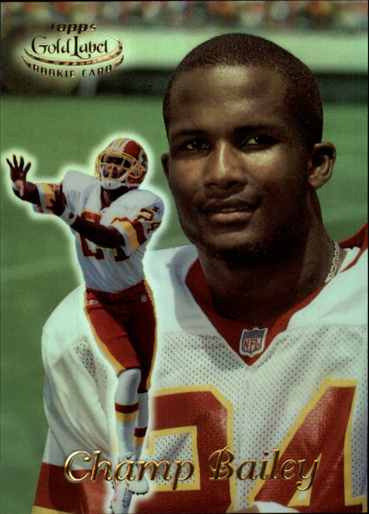 1999 Topps Gold Label Class 1 #28 Champ Bailey RC