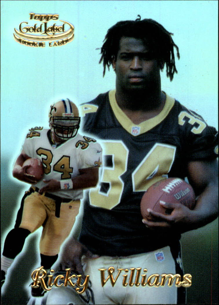 1999 Topps Gold Label Class 1 #70 Ricky Williams RC