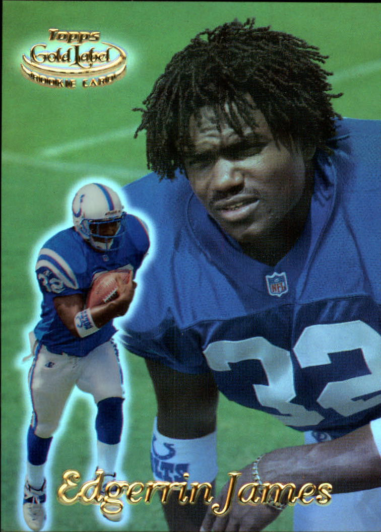1999 Topps Gold Label Class 1 #100 Edgerrin James RC