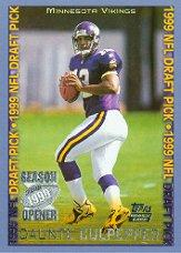 1999 Topps Season Opener #159 Daunte Culpepper RC