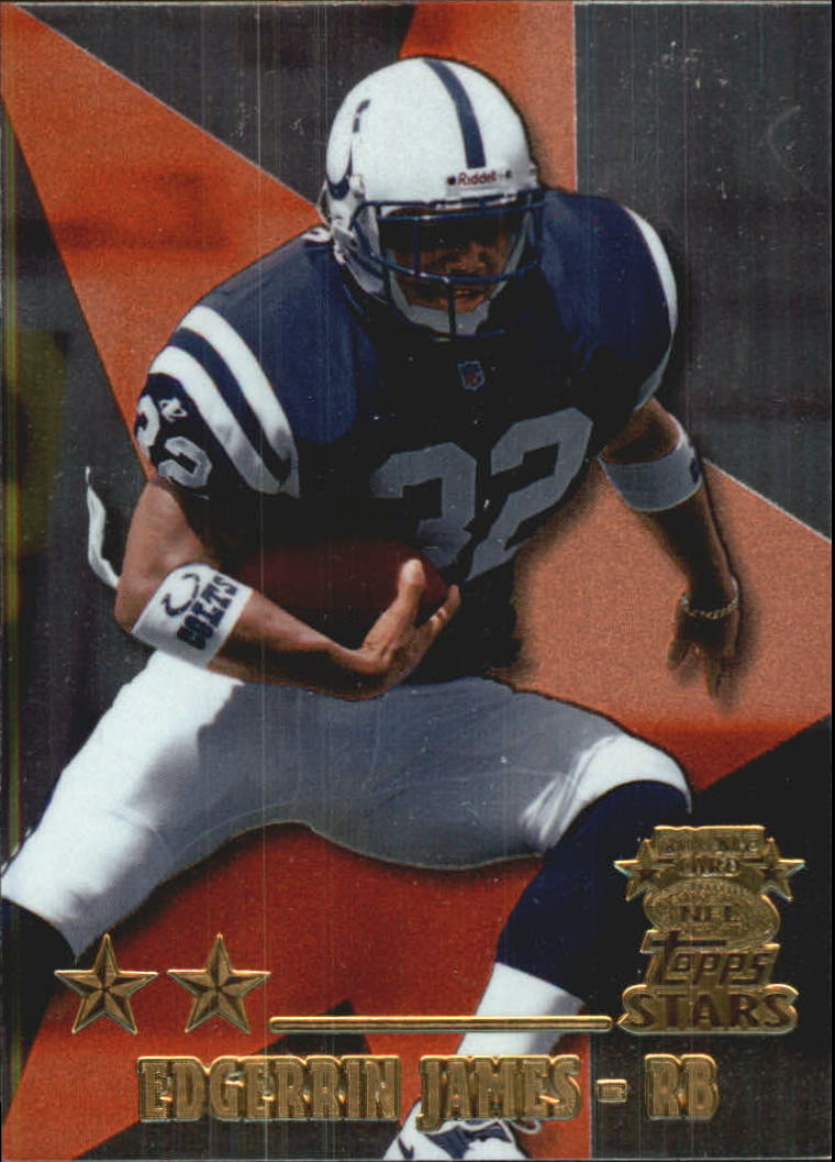 1999 Topps Stars Two Star #8 Edgerrin James