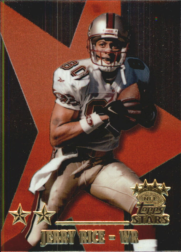 1999 Topps Stars Two Star #15 Jerry Rice
