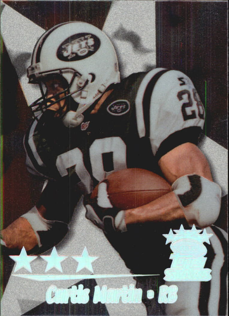 1999 Topps Stars Three Star #22 Curtis Martin