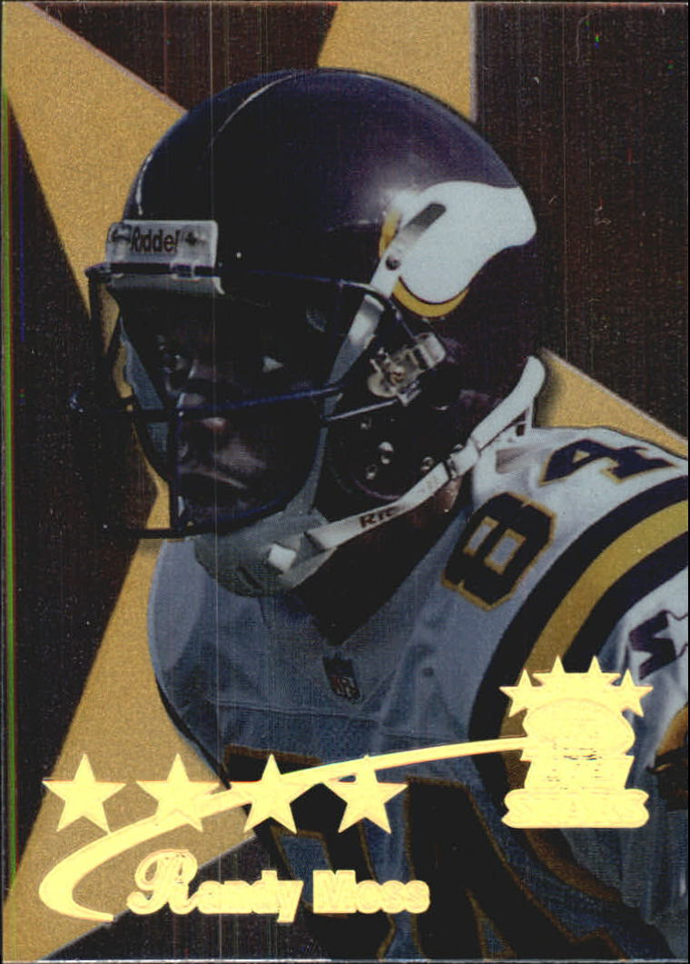 1999 Topps Stars Four Star #3 Randy Moss