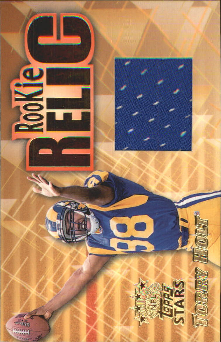 1999 Topps Stars Rookie Relics #RR2 Torry Holt
